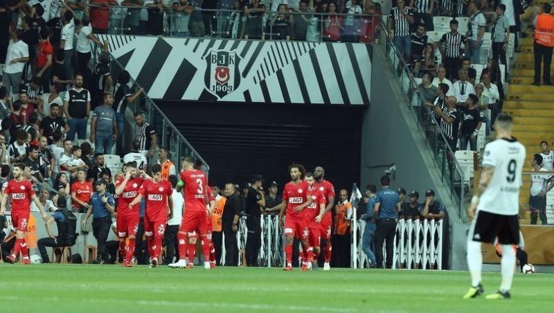 Beşiktaş'ta Seri Bozuldu! Beşiktaş-Antalyaspor Maç Özeti