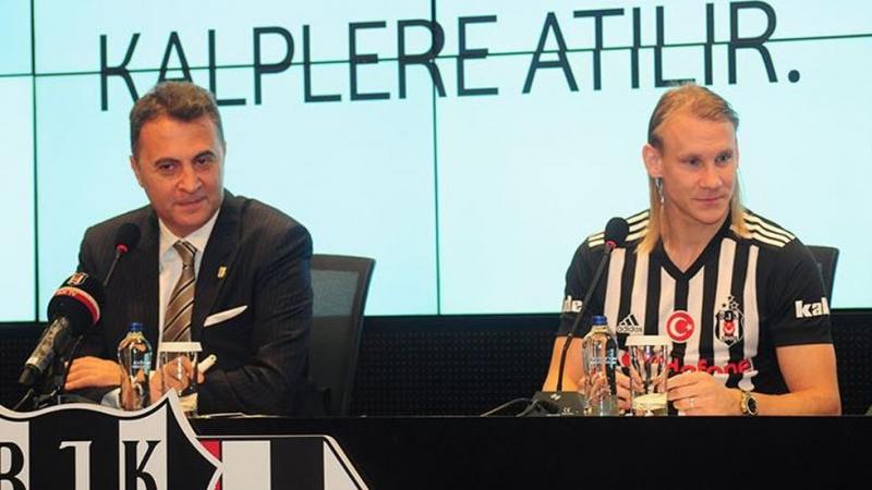 """Beşiktaş'ta Vida İmzayı Attı! Başkan Fikret Orman Cenk Tosun Bombasını Patlattı! """"35 Milyon Euro'luk Teklif Geldi"""""""
