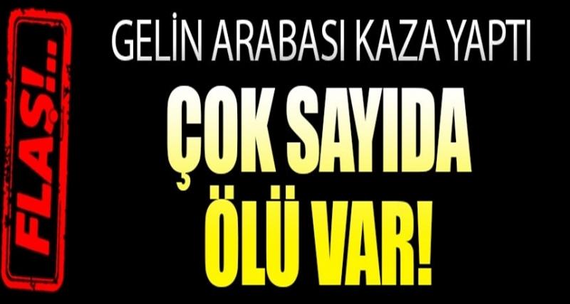 Bursa'da Gelin Arabası Konvoyu Kaza Yaptı, Çok Sayıda Ölü ve Yaralı Var