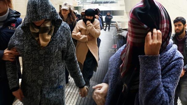 Bursa'da Yakalanan IŞİD'li Kadınlardan Şok İfadeler: Dullar Vakfı