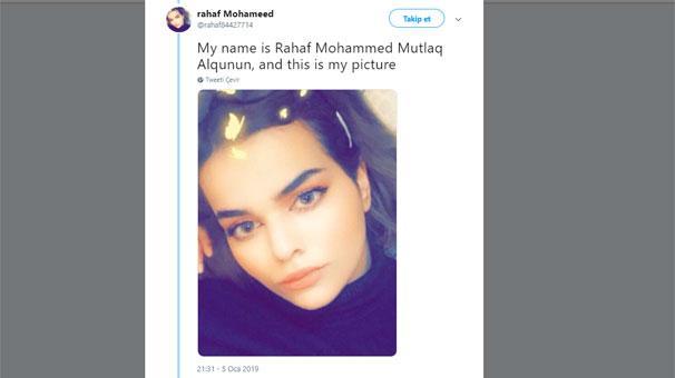 Bütün Dünya Bu Kızı Konuşuyor! Ailesinden Kaçmak İsterken Mahsur Kalan Suudi Kız