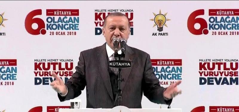 """Cumhurbaşkanı Erdoğan Resmen Duyurdu! """"Afrin Operasyonu Fiilen Başlamıştır"""""""