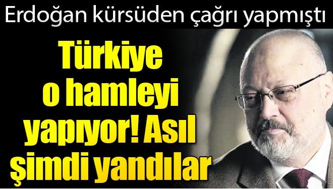 Erdoğan Kürsüden Çağrı Yapmıştı, Kaşıkçı Cinayeti ile İlgili O Hamle Yapılıyor