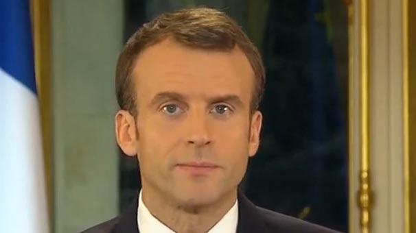 Fransa Cumhurbaşkanı Macron'dan Sarı Yelekliler Hakkında Önemli Açıklama