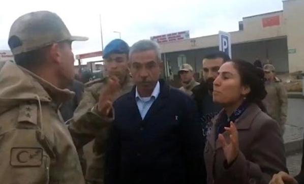 HDP'li Vekil, 'Saygı Duyacaksın' Deyince Komutan TOMA'yı Çalıştır