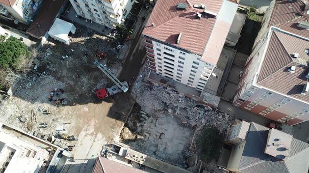 İstanbul Valiliği'nden Kartal'daki Çöken Binaya İlişkin Açıklama