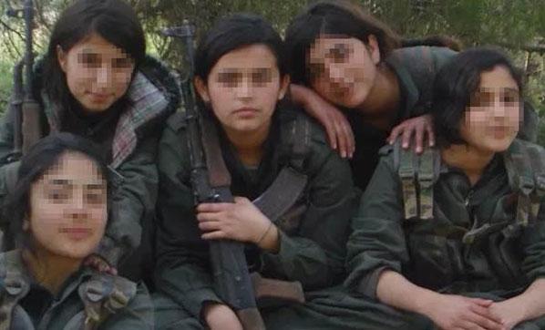 Kadın Teröristlerden Kan Donduran İfadeler: Sabah Babam Yaşında Birinin Yanında Uyandım