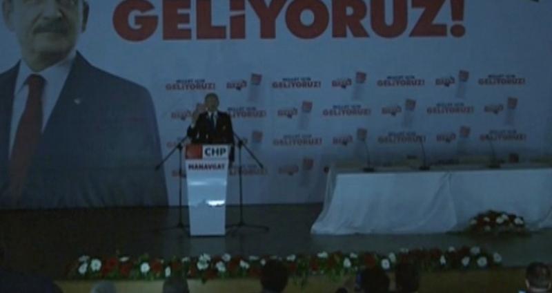 Kılıçdaroğlu Antalya'da Şoka Uğradı! Salon Bir Anda Karanlığa Büründü