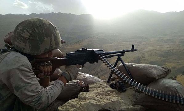 Komandolar Herekol Dağı'nı PKK'dan Temizledi