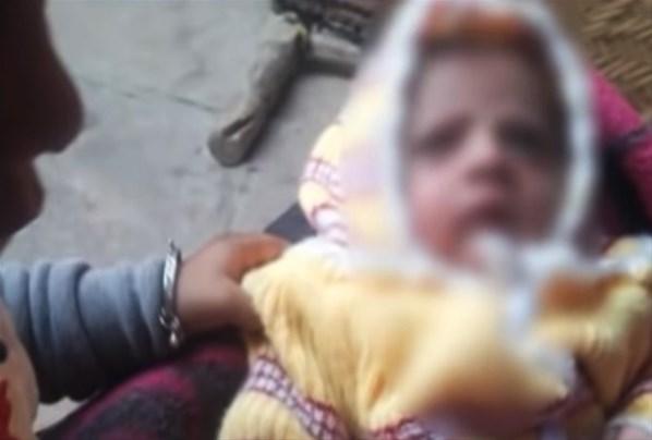 Maymun 12 Günlük Bebeği Kaçırıp Öldürdü