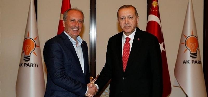Muharrem İnce Cumhurbaşkanı Erdoğan'ı Telefonla Arayarak Tebrik Etti