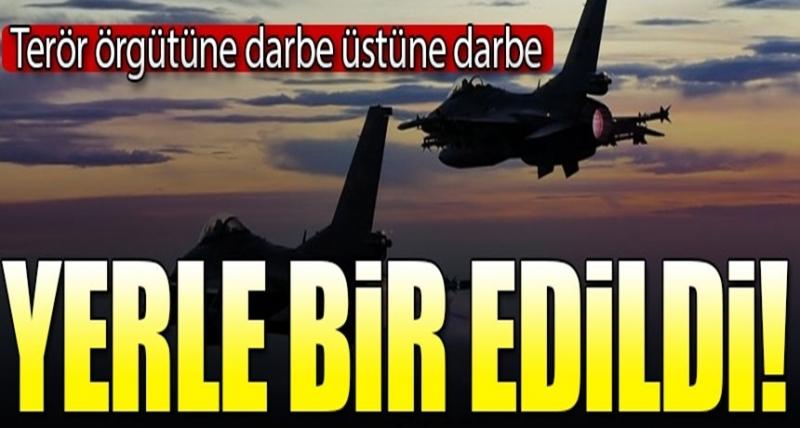 PKK'ya Büyük Darbe! Savaş Uçakları Havalandı, Yerle Bir Edildi