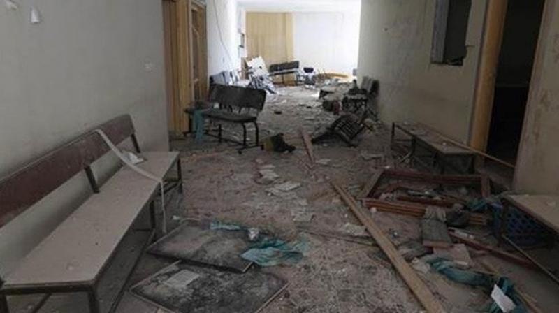 Saldırı Devam Ediyor! Esad Rejimi İdlib'deki Hastaneye Varil Bombası Attı