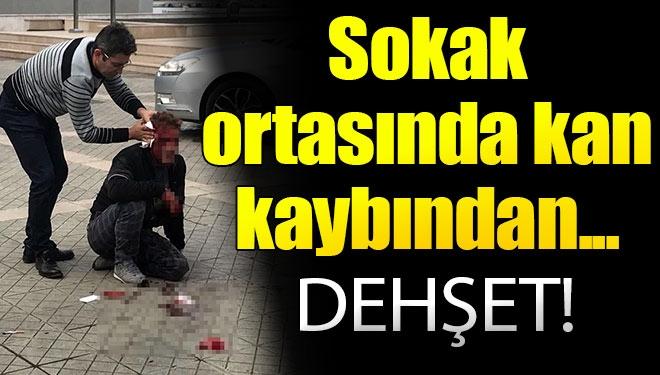 Sokak Ortasında Dehşet! Kardeşinin Katil Zanlısını Kulağından Bıçakladı