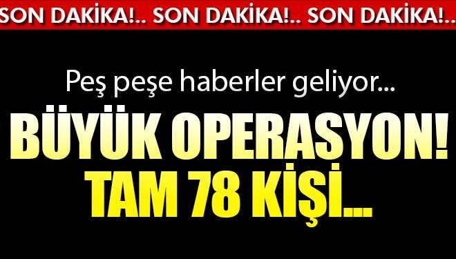 Son Dakika! Konya Merkezli 26 İlde Büyük Operasyon: 94 Gözaltı Kararı Var