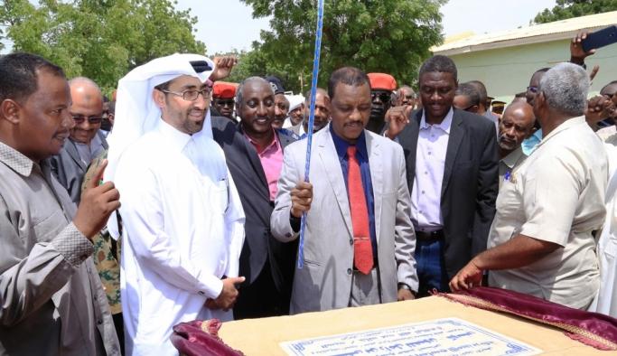 Sudan'ın Kosti Kentine Katar Hayır Kurumu Göz Hastanesi İnşa Ediyor