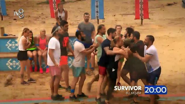 Survivor All Star 2018 13 Şubat Fragmanında Büyük Kavga! Gerginlik Tırmanıyor, Hakan ve Turabi Birbirine Giriyor