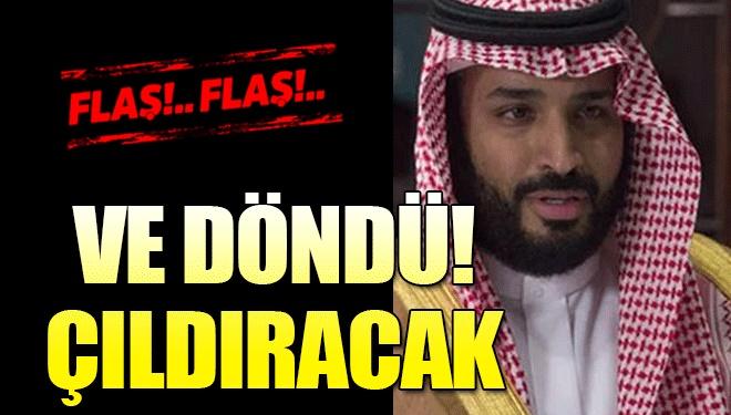 Suudi Prensi Çıldırtacak Gelişme