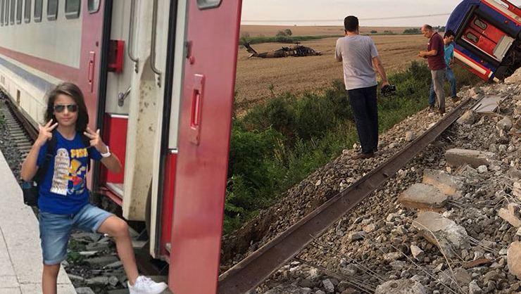 Tekirdağ'daki Tren Kazası Sonrası Sosyal Medyadan Yardım Çağrısı: Arda'yı Bulamıyoruz