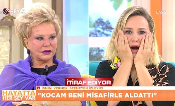 """TV Programının Canlı Yayınında Şok İtiraf: """"Kocamı Banyoda Akrabası Kadınla Bastım"""""""