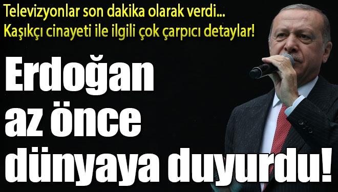 Cumhurbaşkanı Erdoğan Kaşıkçı Cinayetinin Kan Donduran Detaylarını Anlattı