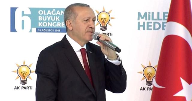 Dev Kongrede Erdoğan'dan ABD'ye Sert Mesajlar: Oyunu Gördük ve Meydan Okuyoruz!