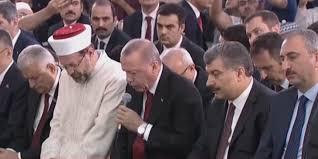 15 Temmuz Şehitleri Anılıyor! Başkan Erdoğan Şehitlerimiz İçin Kur'an Okudu