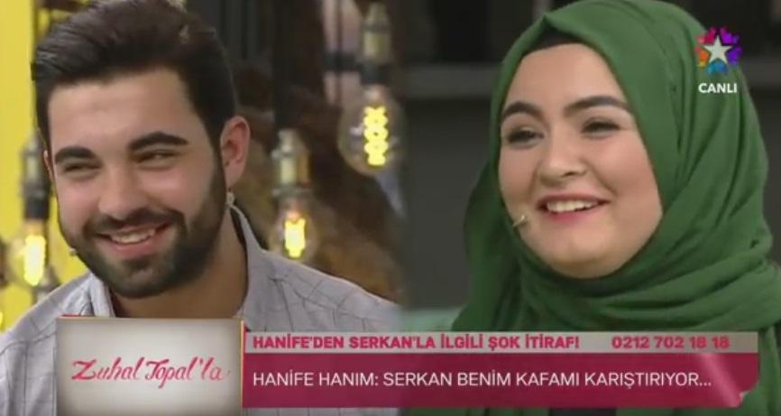 Zuhal Topal'la da Fenomen Gelin Adayı Hanife Gitti
