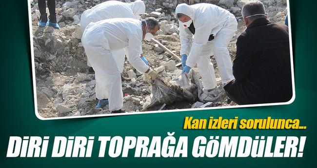 Adana'da Vahşi Cinayet, Diri Diri Gömdüler