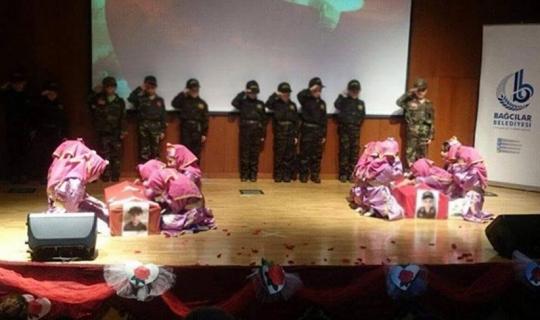 Bağcılar'da İlkokulda Çanakkale Temsili Oyununda Büyük Skandal!