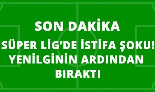 Adanaspor Teknik Direktörü Levent Şahin Yenilginin Ardından İstifa Etti!