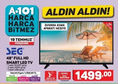 A101 Aktüel 19 Temmuz 2018 İndirimleri – Bu Hafta A101 Aktüel ile Hangi Ürünler İndirimde Olacak?
