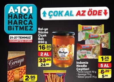A101 Aktüel 21 - 25 Temmuz Kataloğu ile Haftanın Yıldızları Kampanyası Başladı