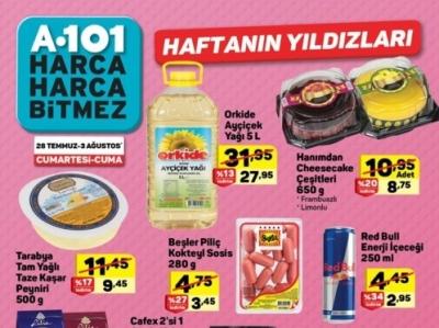 A101 Aktüel 28 Temmuz 2018 Hafta Sonu İndirim Kampanyası! A101 Hafta Sonu Aktüel Kataloğu ile İndirimli Ürünler