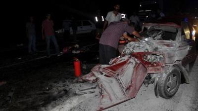 Adıyaman'da Korkunç Kaza! 1 Kişi Öldü 13 Kişi Yaralandı