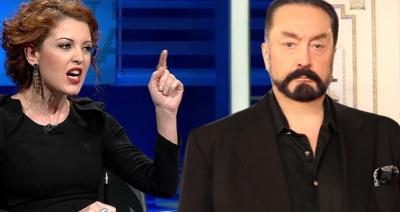 """Adnan Oktar Nagihan Alçı'yı Hedef Aldı! """"Yüz Kızartacak Bir Olay Var"""""""