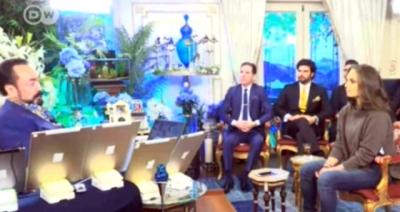 Adnan Oktar'a Sürpriz Ziyaretçi! Ünlü Spiker Nevşin Mengü, Kanalına Giderek Adnan Oktar'ı Ziyaret Etti