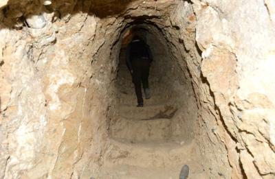 Afrin'den Sıcak Görüntüler! Mehmetçik, PKK'nın Yeraltındaki İnine Girdi, İşte Görüntüleri!
