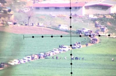 Afrin'e 1,5 Km Kaldı! Siviller İlçeyi Boşaltmaya Başladı, Uzun Araç Kuyrukları Oluştu