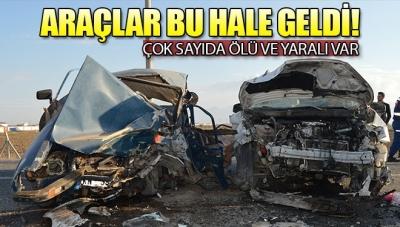 Afyon'da Feci Kaza Ölü ve Yaralılar Var