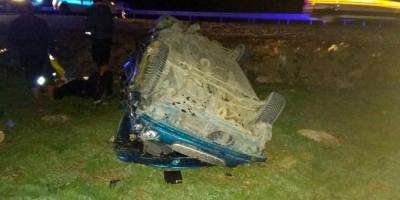 Afyon'da Korkunç Kaza! Otomobil Hurdaya Döndü! 2 Kişi Öldü, 3 Kişi Yaralandı