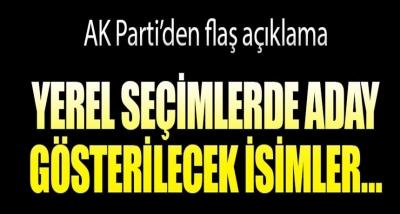 AK Parti'den Yerel Seçimlerle İlgili Flaş Açıklama