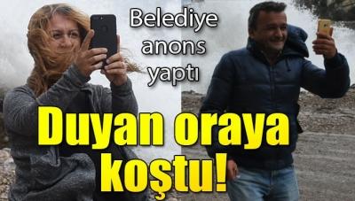 Bartın'da Belediye Anonsunu Duyan Koştu! Dalgaların Boyu 5 Metreye Ulaştı