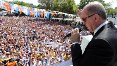 """Başkan Erdoğan Dev Kongreden Dünyaya Böyle Seslendi! """"Bizi Çökertemediler, Çökertemeyecekler"""""""