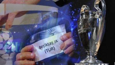 Beşiktaş Şampiyonlar Ligi'nde Alman Deviyle Eşleşti