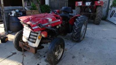 Bilecik'te İnanılmaz Olay! Apartmandan Traktör Düştü