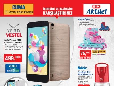 Bim 13 Temmuz 2018 Aktüel Ürünler Listesi İçinde 500 TL Altında Akıllı Telefon Satacak!