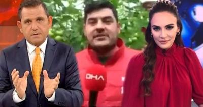 Buket Aydın ve Fatih Portakal'ı Birbirine Düşüren Çiftçi: Kanal D Yüzünden Küfür Yedim
