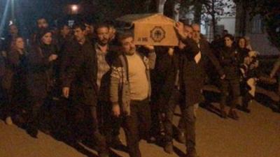 Büyük Skandal! HDP'li Vekiller Kırmızı Listedeki Öldürülen Teröristin Cenazesine Katıldı