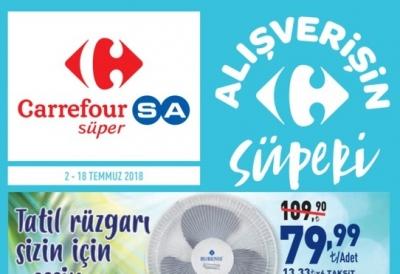 Carrefour Aktüel 2 - 18 Temmuz 2018 İnsert Ürünlerinde Dev Kampanya
